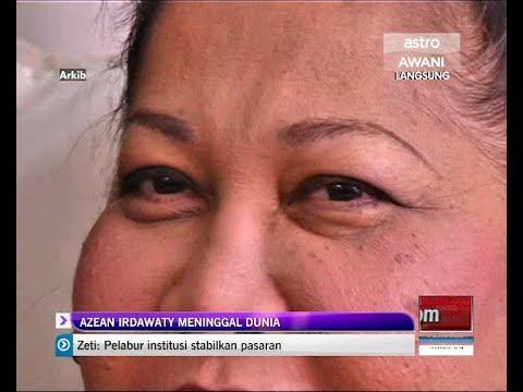 Seniwati Azean Irdawaty meninggal dunia