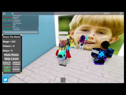 Roblox Guess The Memes Answers Part 1 Youtube