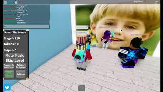 Roblox Guess The Memes Réponses Partie 1