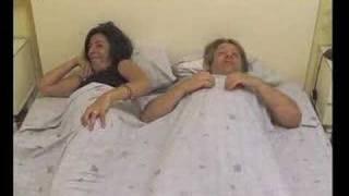 Scheten laten in bed