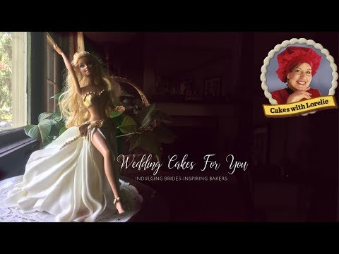 How To Make A Doll Cake With Fondant / Beautiful Belly Dancer Design