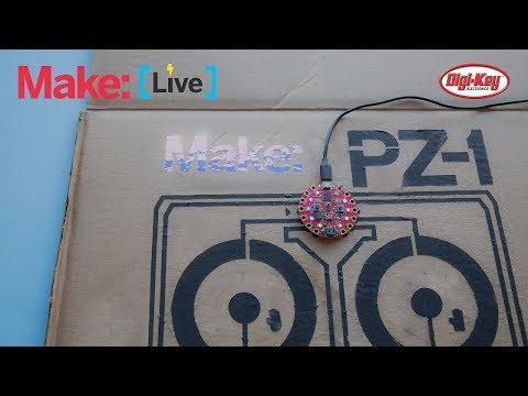 Make: Live - Circuit Playground PZ-1 DJ Controller