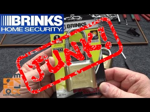 (1005) Brinks ProMax Combination Padlock Hacked (JUNK!)