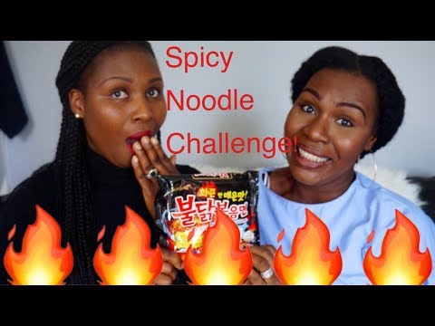 Spicy Noodle challenge|African girls