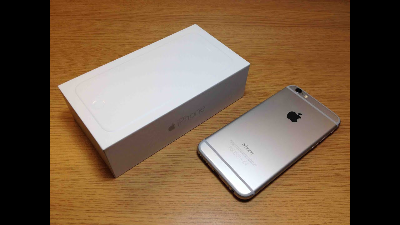 iphone 6 128gb silver unboxing youtube. Black Bedroom Furniture Sets. Home Design Ideas