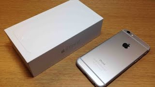 iPhone 6 128GB Silver Unboxing