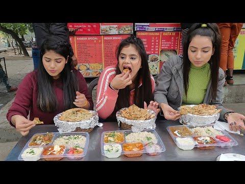 Bahubali Punjabi Thali Eating Challenge | Big Punjabi Thali Eating Competition | Food Challenge