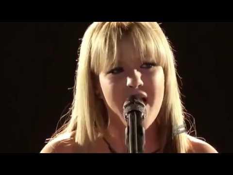 Amber Carrington Sad The Voice USA 2013 Season 4 Top 5 HD
