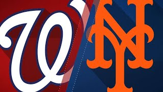 Nine-run rally in 8th propels Mets past Nats - 4/18/18