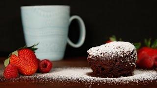 Flourless Chocolate Microwave Mug Cake Recipe | Get The Dish