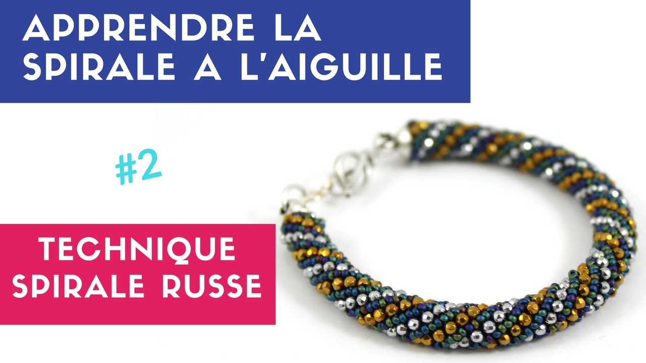 bracelet perle rocaille technique