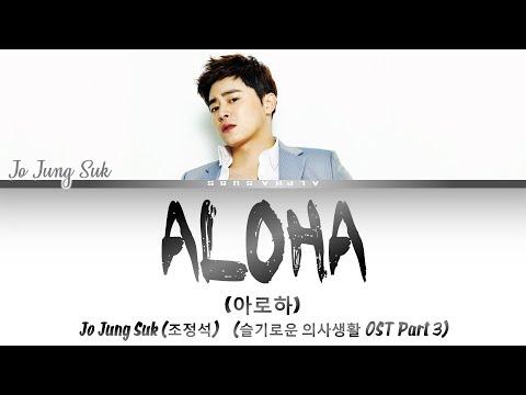 Jo Jung Suk (조정석) - ALOHA [아로하] Lyrics/가사 [Han|Rom|Eng] 슬기로운 의사생활 OST Part 3 / Hospital Playlist OST