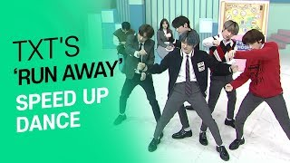 [AFTER SCHOOL CLUB] TXT's 'Run Away' speed up dance (투모로우바이투게더의 9와 4분의 3 승강장에서 너를 기다려 스피드업 댄스)