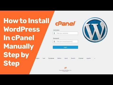 Install guide wordpress