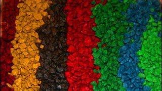 видео Производство цветного щебня: технология