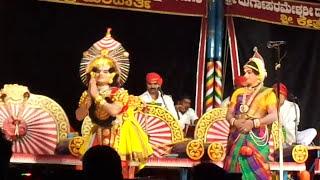 Yakshagana  Mandarthi mela....abhimanyu....lalipudele taye