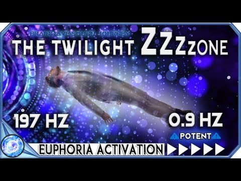 Experience EUPHORIA FAST ( Works In Minutes )| FULL MIND & BODY RELAXATION | 0.9hz Binaural Beats
