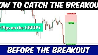 How to trade a breakout /  before the breakout ( 200 pips on GBPJPY )