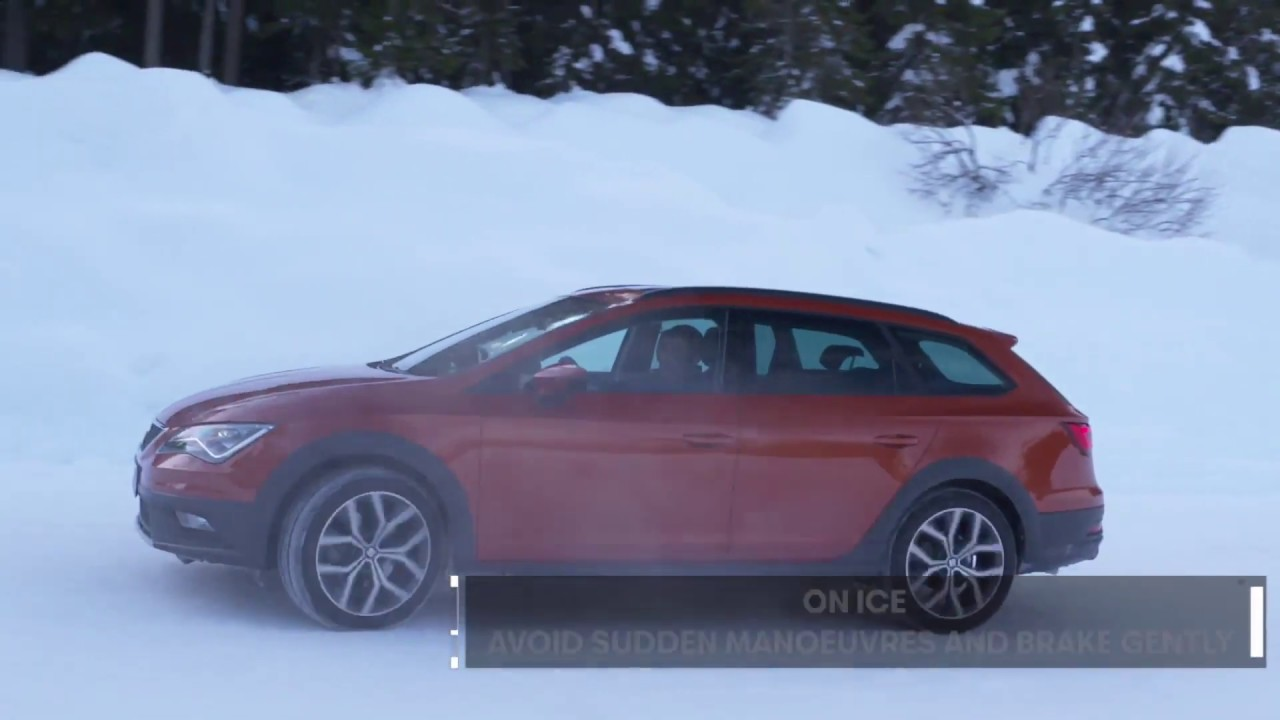 Seat - Drive on a snow like a pro - YouTube