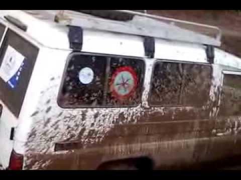 TCRM RD Congo difficultés en route Kibanda 02