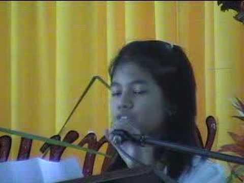 Patricia Ignacio's Valedictory Speech 2008 - Holy ...
