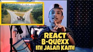 Download Lagu B-QUEXX | INI JALAN KAMI (OFFICIAL MV) | React Indonesia | Ada Malique & Benzooloo❗ mp3