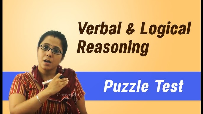 Verbal and Logical Reasoning (Bank PO, IBPS, CAT, GRE) - YouTube