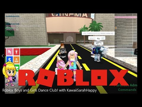 Boys And Girls Dance Club Dance Party Roblox Youtube Roblox Boys And Girls Dance Club With Kawaiisarahhappy Youtube