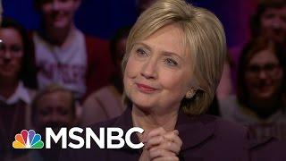 Video Hillary Clinton On Being Considered 'Hawkish' | Democratic Forum | MSNBC download MP3, 3GP, MP4, WEBM, AVI, FLV Agustus 2017