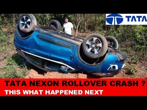 TATA Nexon Owner Thanked Tata Motors, After The Accident ?