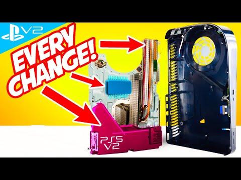 New PS5 v2 changes