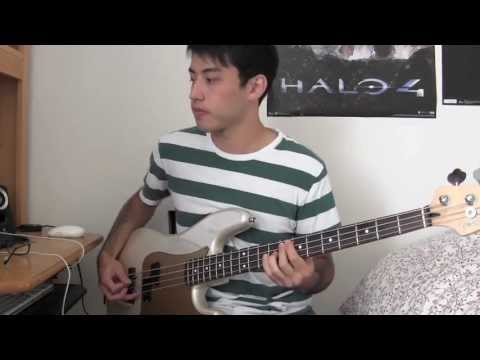 Paramore Still Into You Bass Cover Tab In Description Youtube