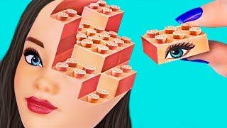 ¡10 ÚTILES ESCOLARES DE BARBIE vs ÚTILES ESCOLARES DE LEGO! ¡DESAFÍO!