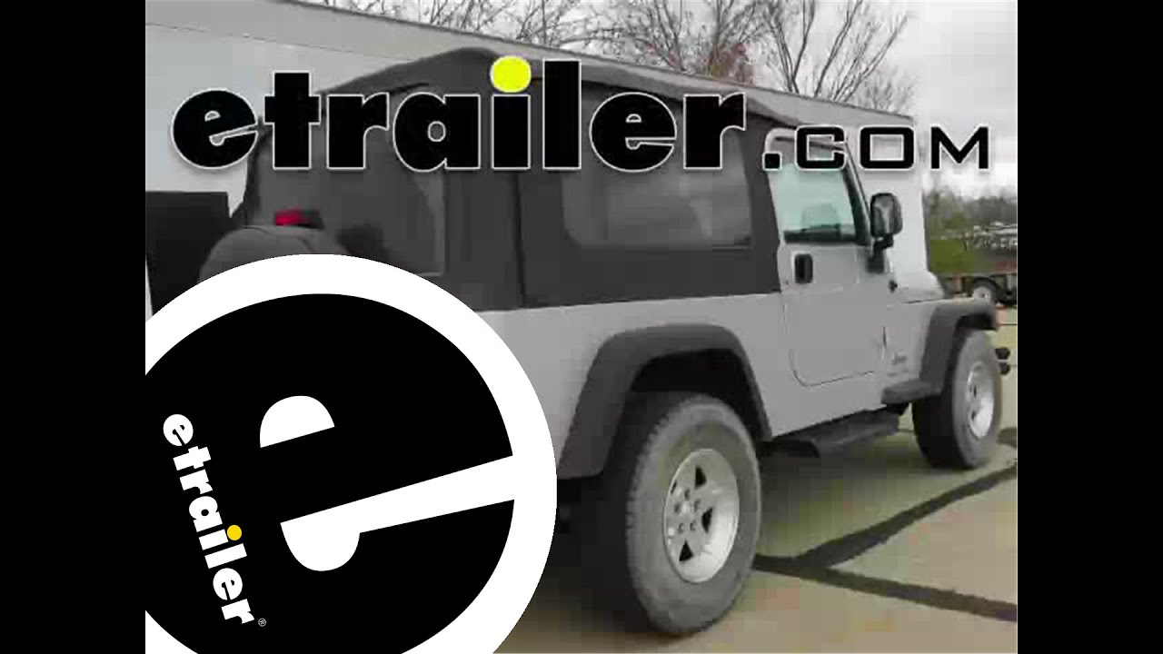 install trailer wiring 2004 jeep wrangler c55363 etrailer com rh youtube com Car Tow Connector Wiring Jeep Wrangler Tail Lights