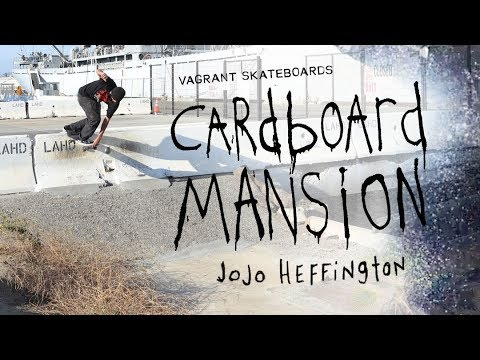 "JoJo Heffington's ""Cardboard Mansion"" Part"