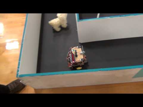 BU2B2 - Trinity College Firefighting Home Robot Content Competition Practice Trail 30