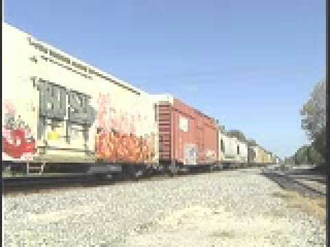 CSX S & A Lines in North Central Florida Introduction.wmv