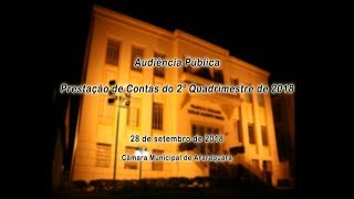 Audiência Pública - Prestação de Contas do 2º Quadrimestre de 2018