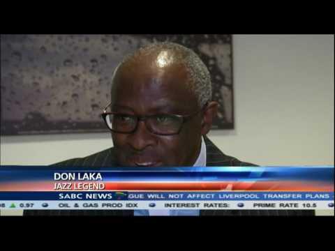 Don Laka and his band celebrate SABC's 90% local music decision