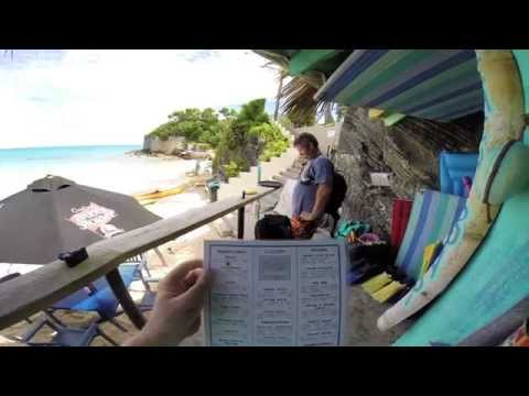 Ordering Food at Achilles Bay Beach Bar in Bermuda HD