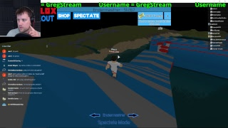 Short Roblox Stream! - Roblox Wipeout! (New Streaming Account)
