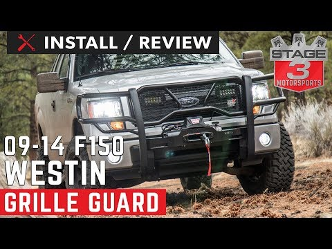 2009-2014 F150 Westin HDX Winch Mount Grille Guard Install and Review