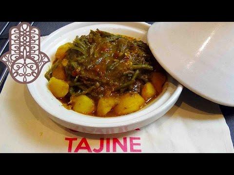 Tajine de boeuf aux haricots verts et pommes de terre