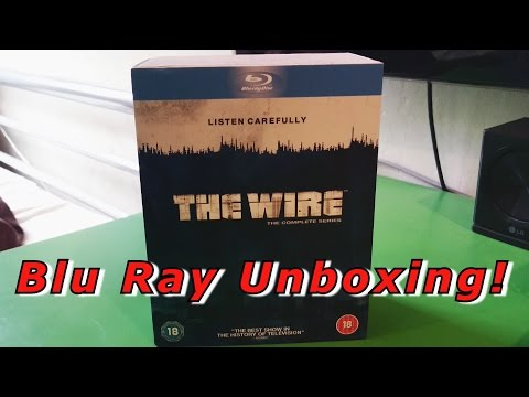 The Wire Complete Series Blu Ray Unboxing! UK Season 1-5