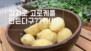 서울텃밭?야채 감자고로케 만들기 Vegetable ga…