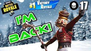 17 Tuer Crackshot Gameplay! - Fortnite Battle Royale - Darth (Xbox)