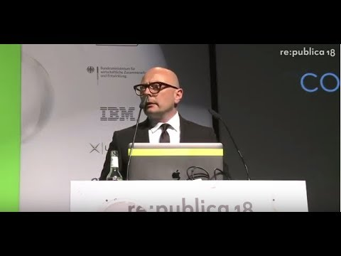 re:publica 2018 – Marcus John Henry Brown: The Passing