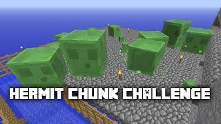 Minecraft: Hermit Chunk Challenge -7- Auto Farming Slimes & Villagers ✔