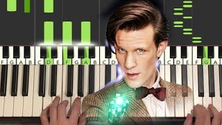 Doctor Who - I Am The Doctor (Piano Tutorial Lesson)