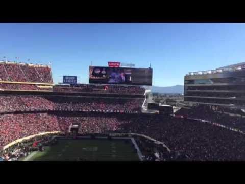 Crowd Reacts To Super Bowl MVPs At Super Bowl 50 #SB50